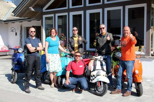 Urlaub mit dem Roller am Weissensee - © www.seehauswinkler.at