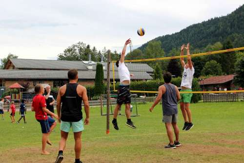 Volleyballturnier Seehaus Winkler - © www.seehauswinkler.at