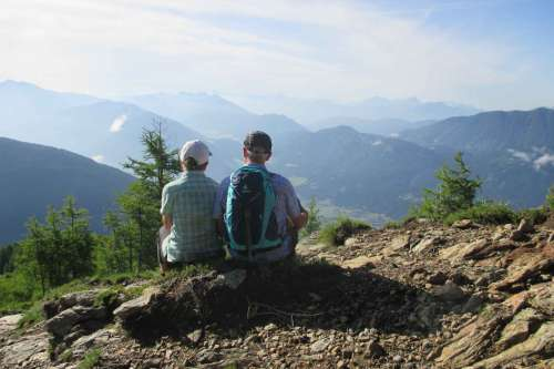 Wanderungen in Kaernten - © www.seehauswinkler.at