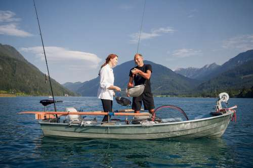 Frischer Fisch aus dem Weissensee - © Weissensee Information