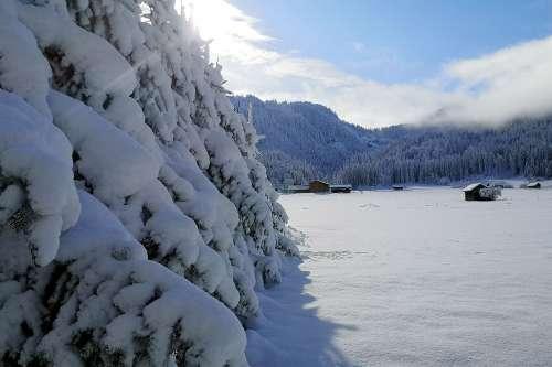 Vorgeschmack auf den Winter! - © www.seehauswinkler.at